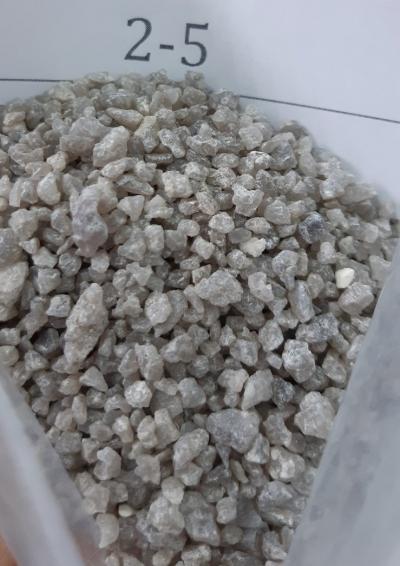 Кварцевый песок фракция 2,0-5,0  мм