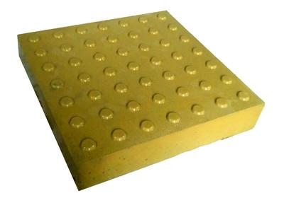 Тактильная плитка «Конус» 500х500х60