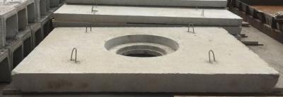 Плита дорожная ПД-6 (с отверствием под люк)