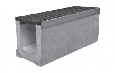 Лоток водоотводный ЛВ-20.30.36 с чугунной решеткой ВЧ