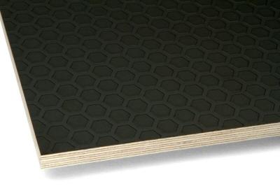 Фанера ламинированная транспортная 12х1250х2500 F/W Heksa+ black (плёнка - 240 г/м2) Рига A/S