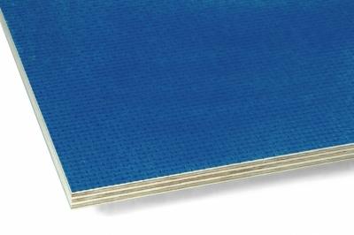 Фанера ламинированная транспортная 15х1250х2500 F/W Рига (blue) A/S
