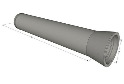 Трубы железобетонные безнапорные ТБ 50.50-3